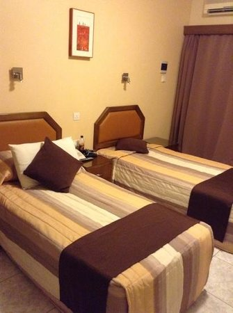 Pyramos Hotel:                   my clean and cosy bedroom