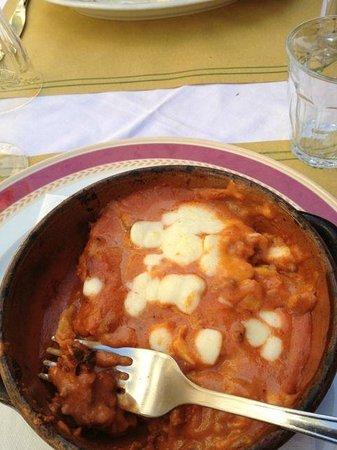 Le Gambas rouge : Meat Lasagne