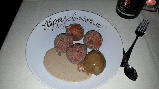 The Fig Tree Restaurant : Beignets with Madagascar Cinnamon Sugar
