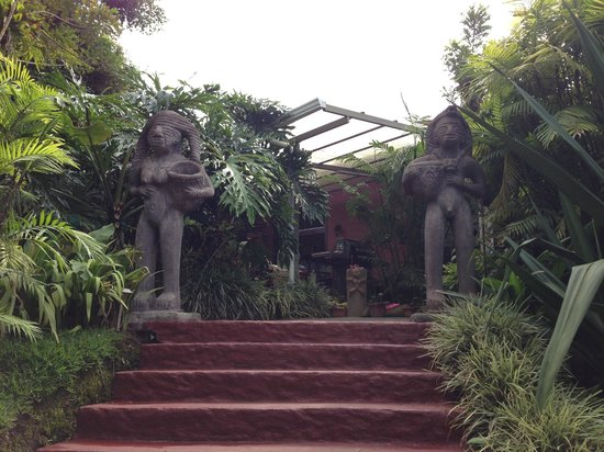 La Boruca :                   Hotel grounds
