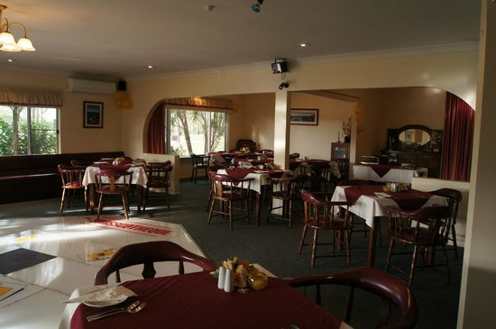 Kempsey Powerhouse Motel: lantern inn restaurant dining room / conference room