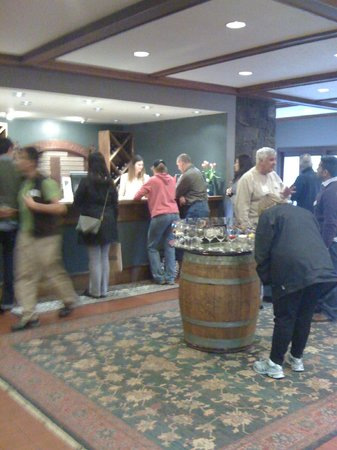 REX HILL Winery & Vineyards:                   Tasting Room