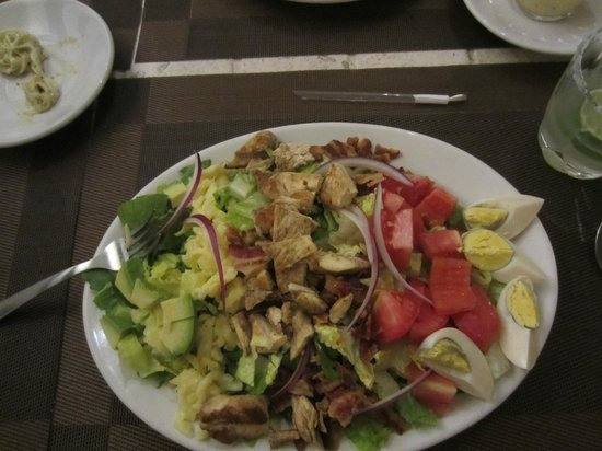Terra-Cotta : geat Cobb salad
