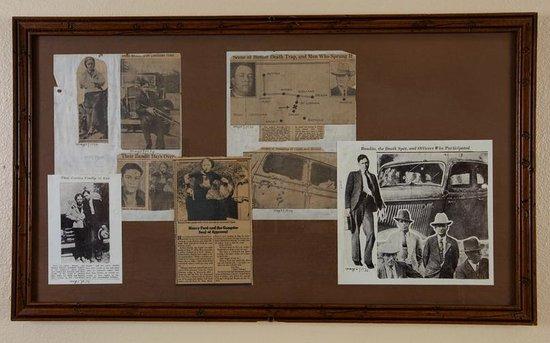 Stockyards Hotel: Bonnie & Clyde