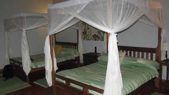 Tloma Mountain Lodge, Tanganyika Wilderness Camps: Spacious room