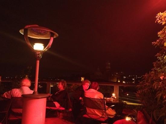 Hotel Forum Roma: la terrasse du bar
