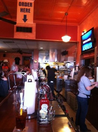 Black Dog Smoke & Ale House:                   busy u of I basketball day