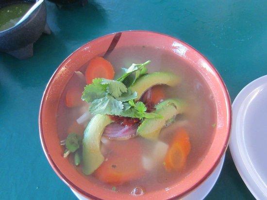 Los Gallos:                   soup