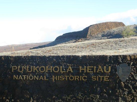 Pu'ukohola Heiau:                   Sacred grounds, a must see!