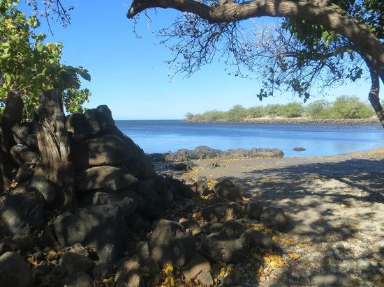 Pu'ukohola Heiau:                   Beautiful ocean