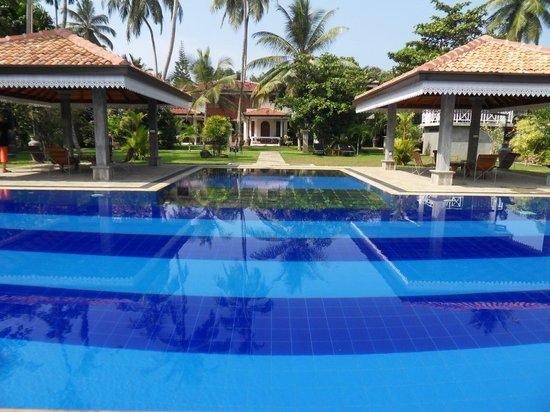 Amal Villa Apartments & Rooms:                   Der Pool ist erfrischend, da er schön tief ist. Die geschützte Anlage ist ein