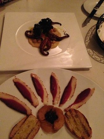 Al Tiramisu:                   appetizers. the octopus appetizer was incredible!