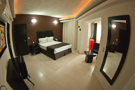 Hotel Portonovo Plaza: Superior room open view