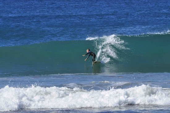 Las Plumerias Lodge and Surf:                   bottom turn