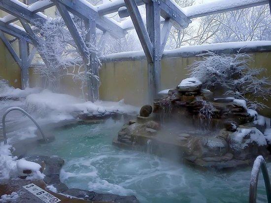 Mirbeau Inn & Spa Skaneateles: Aqua Terrance