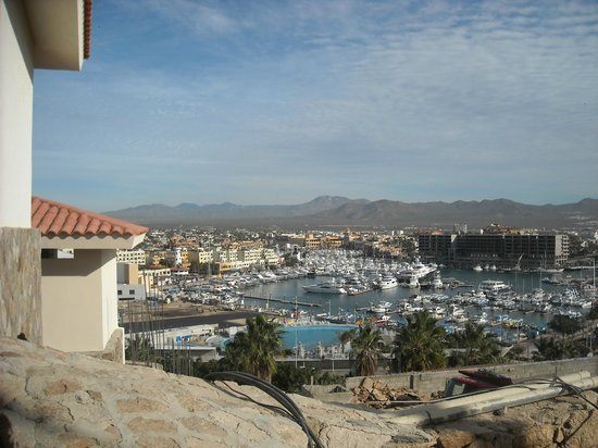 Sandos Finisterra Los Cabos:                   View of the Marina from the Blue Marlin restuarant