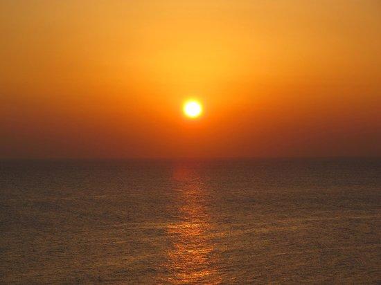 Hilton Malta:                   Sunset
