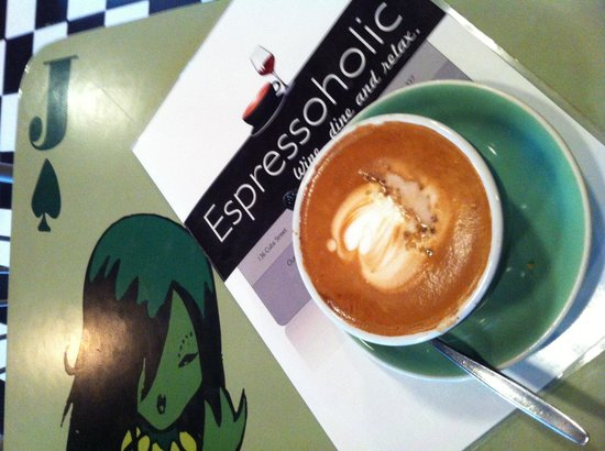Espressoholic:                                     Coffee