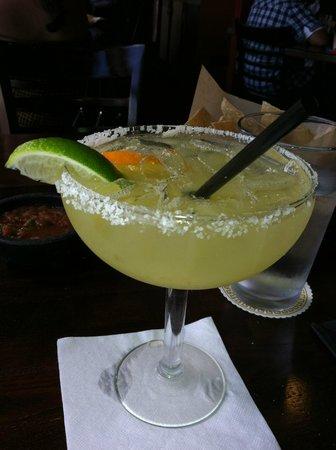 Luibueno's Mexican and Latin Cuisine :                   Great margarita