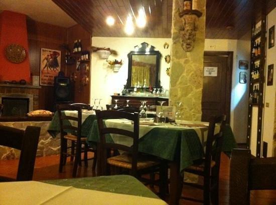 Villa del Cedro:                   interno