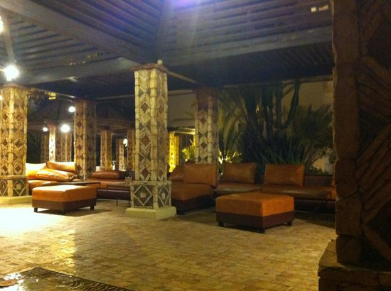 Hotel Riu Tikida Beach:                   Chill out area