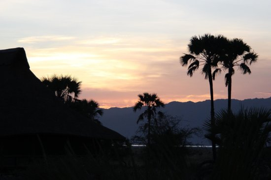 Maramboi Tented Camp:                                     Sunset