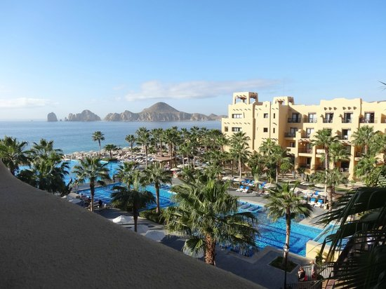 Hotel Riu Santa Fe:                   Building 7 view of pool area