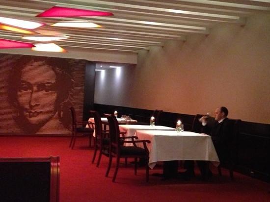 Clara - Restaurant im Kaisersaal:                   Einrichtung Geschmacksache