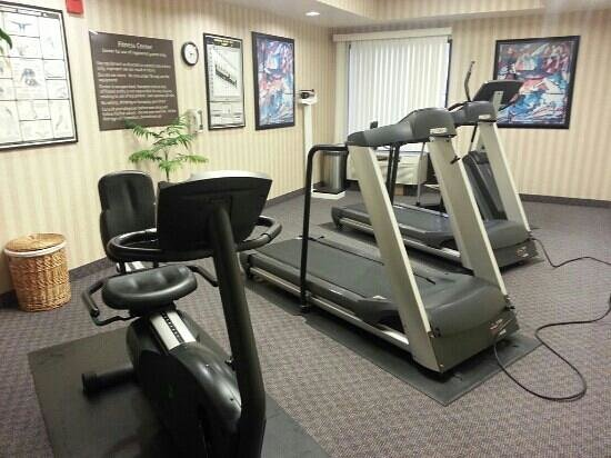 Hampton Inn Las Vegas/Summerlin: work out room