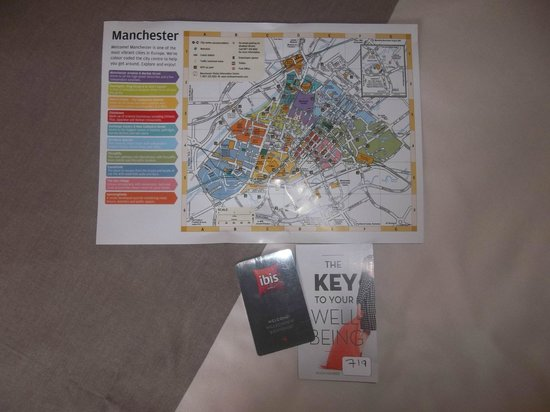 Map Picture of ibis Manchester Centre Princess Street Hotel