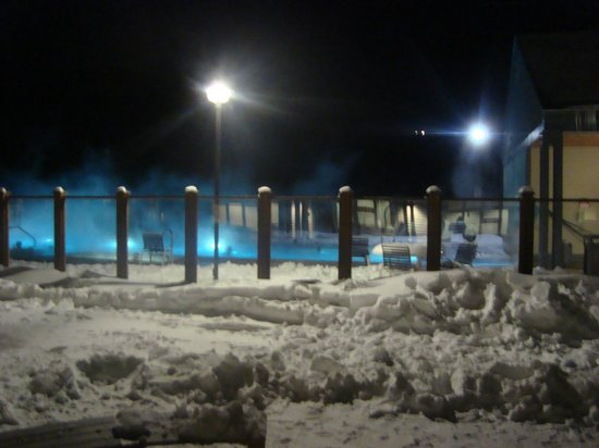 Killington Grand Resort Hotel:                   pool at night