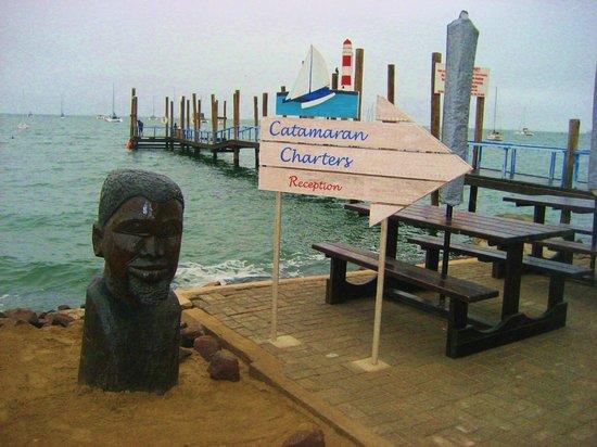 Catamaran Charters: Walvis bay: il molo d'imbarco