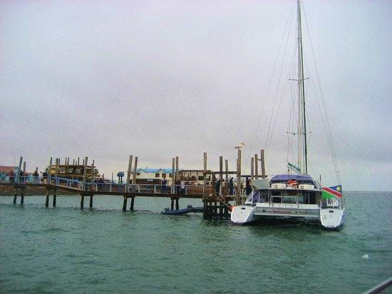 Catamaran Charters: Walvis bay: una catamarano