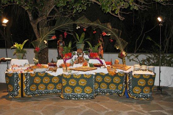 Diani Sea Lodge :                   dinner