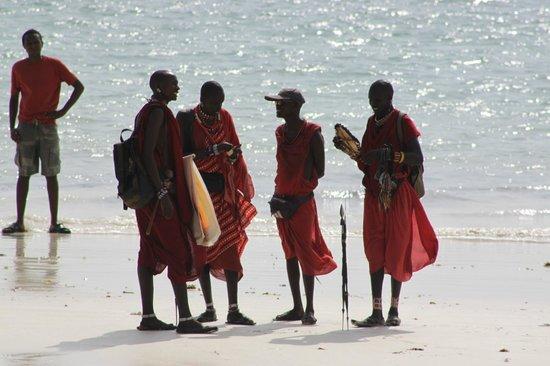 Diani Sea Lodge:                   beach boys