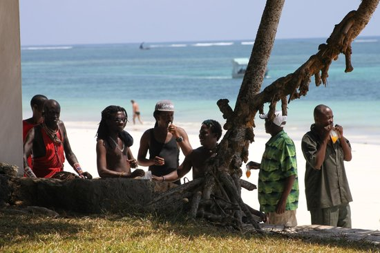 Diani Sea Lodge:                   beach boys