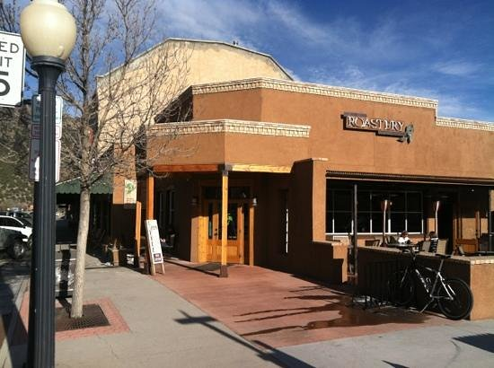 Buena Vista Roastery:                   Right downtown on Main Street