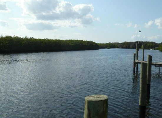 Pirates Pointe Resort:                   Sitting on the dock of the bay... doesn't get any better than this!