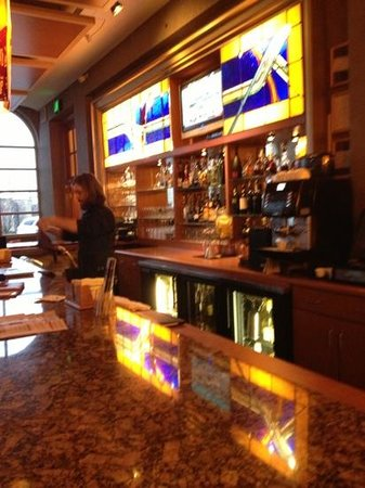 Eddie Merlot's Fort Wayne: the bar