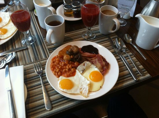 Hilton London Canary Wharf: Full English breakfast