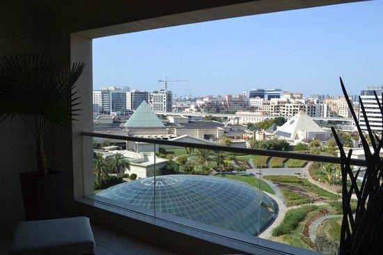 Raffles Dubai: View from our balcony