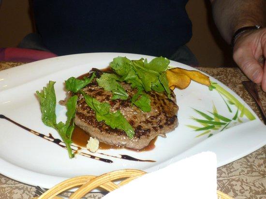 Sultan Gardens Resort:                                     Amazing steak!