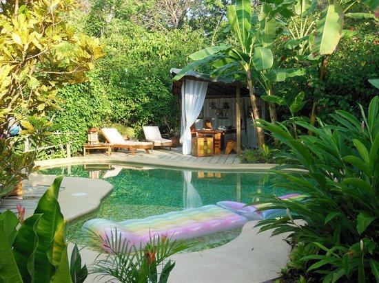Phidjie Lodge:                   Pool and Breakfast Area