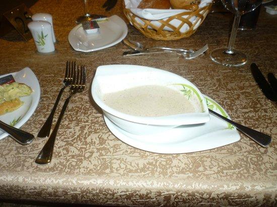 Sultan Gardens Resort:                                     Mushroom soup!