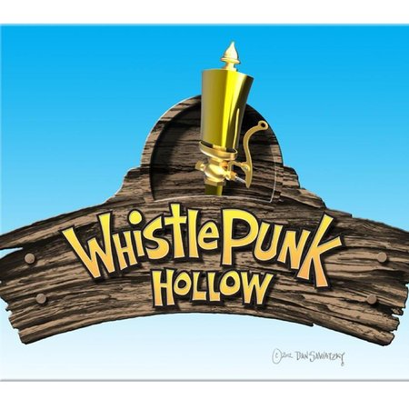 Whistle Punk Hollow Adventure Golf : Logo