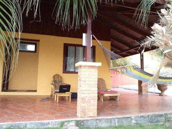 Hotel El Jardin:                                     patio