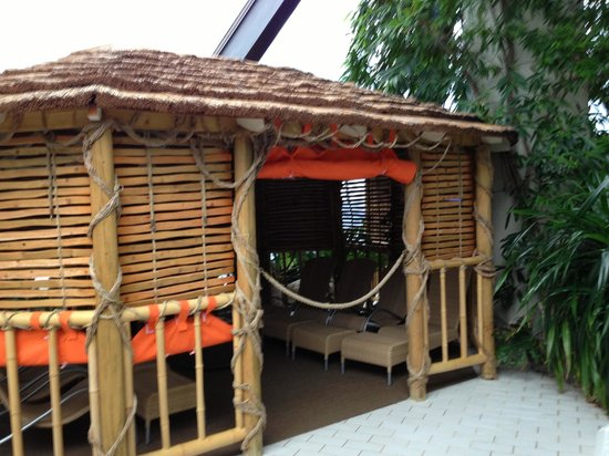 Center Parcs Sherwood Forest: The cabana for 8