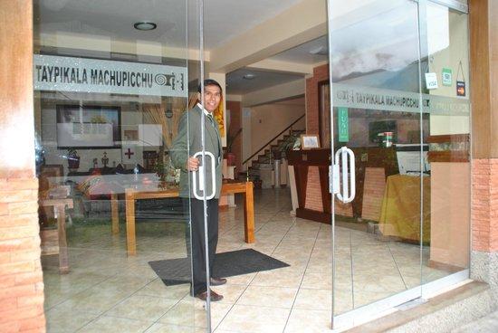 Taypikala Hotel Machupicchu:                   Ingresso
