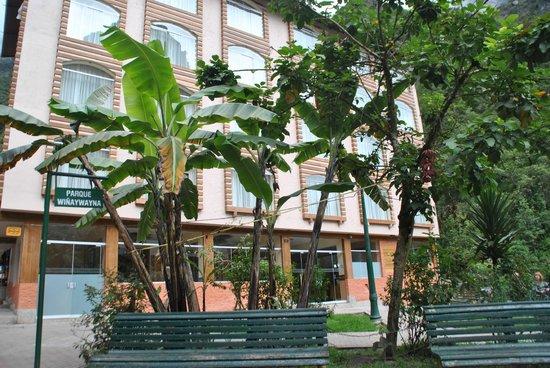 Taypikala Hotel Machupicchu:                   Vista esterna