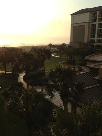 The Ritz-Carlton, Amelia Island:                   corner suite balcony view